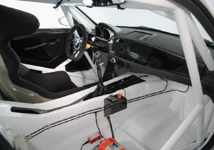 BMW Z4 M Coupe Motorsport kit interior