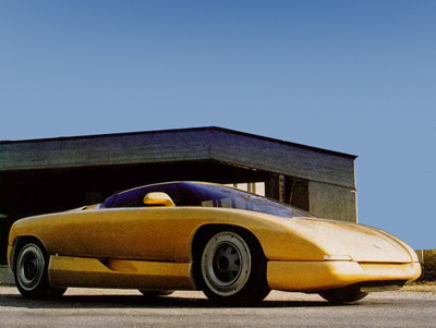 Chevrolet Corvette Nivola by Bertone