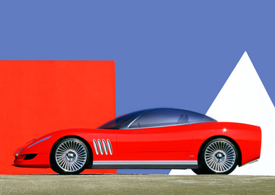 Chevrolet Corvette Moray by Italdesign