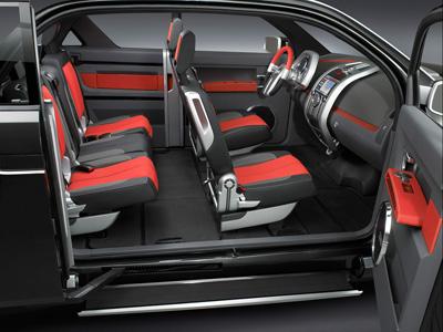 2006 Dodge Rampage Concept. Dodge Rampage concept interior