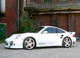 Edo Competition Shark Porsche 997 Turbo