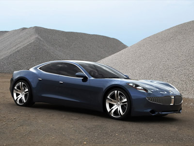 Fisker Karma Hybrid Sports Sedan