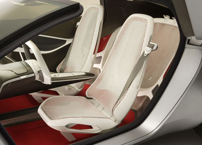 Ford Reflex concept car interior