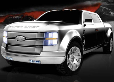 Ford F 250 Super Chief Concept Truck