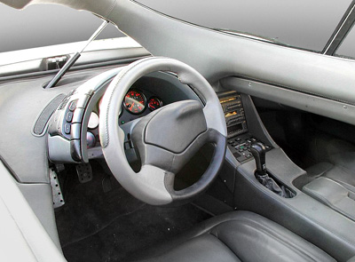 ItalDesign Aztec interior