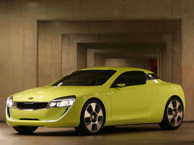 Kia Kee Coupe  Concept Cars  DisenoArt