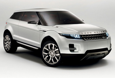 Land Rover LRX concept car