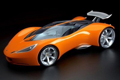 Lotus Hot Wheels concept car