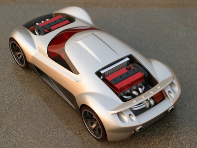 Mitsubishi Double Shotz Hot Wheels concept