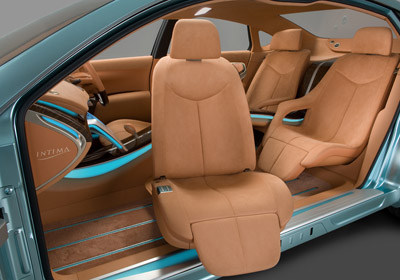 Nissan Intima interior
