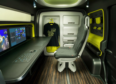 Nissan nv200 concept cars diseno art for Nissan nv200 interior
