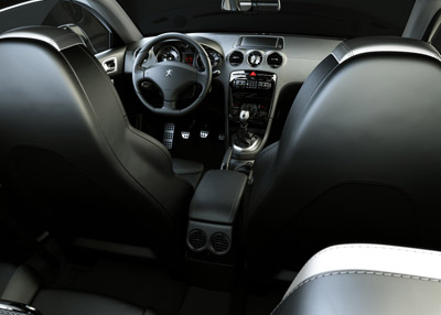 Peugeot 308 RC Z Coupe interior