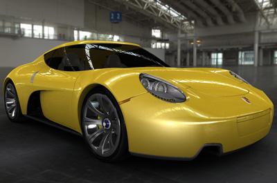 Porsche carma concept cars diseno art for Porche diseno