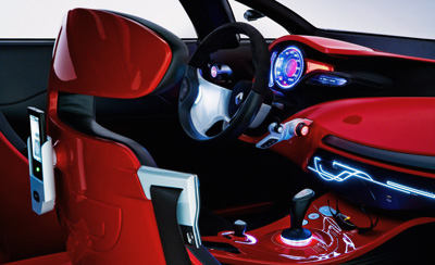 Renault Megane Coupe Concept interior