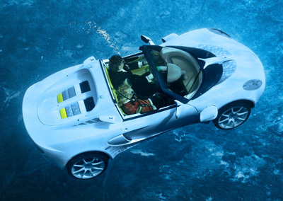 Rinspeed sQuba underwater concept car
