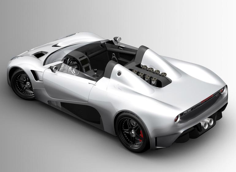 Scuderia Bizzarrini Livorno Barchetta Concept Cars Diseno Art