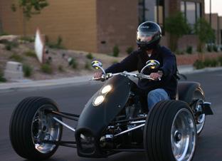 Trirod Motorcycles F3 Adrenaline Motorcycles