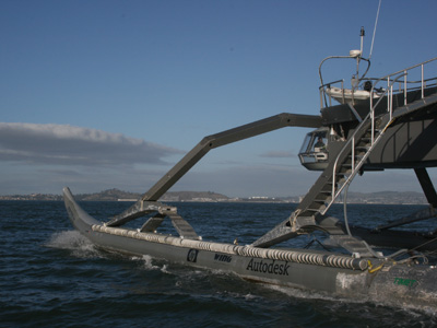 Marine Advanced Research WAM-V Proteus