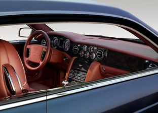 2007 Bentley Brooklands Coupe interior