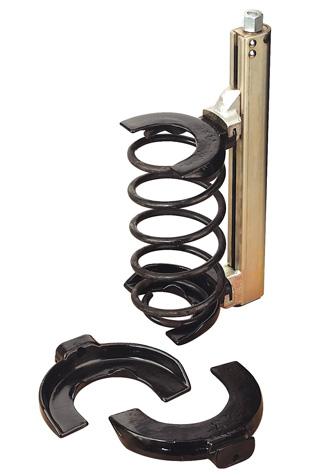 Car coil spring compressor