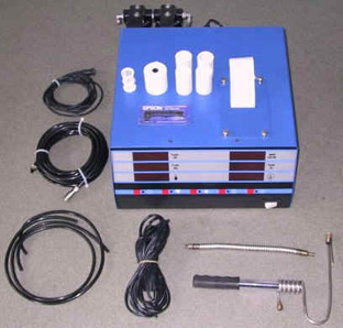 Four-gas analyzer manufactured by Sensor