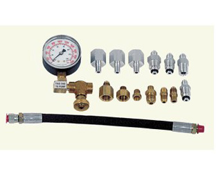 Power steering pressure gauge