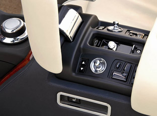 2008 Rolls-Royce Phantom Drophead Coupe interior console