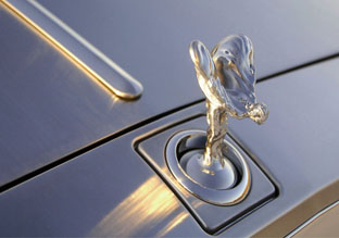 2008 Rolls-Royce Phantom Drophead Coupe hood ornament