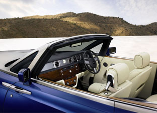 2008 Rolls-Royce Phantom Drophead Coupe interior