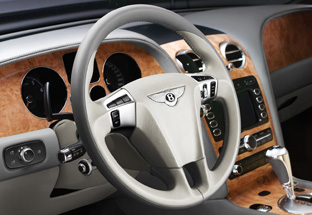 2009 Bentley Continental GTC Speed interior