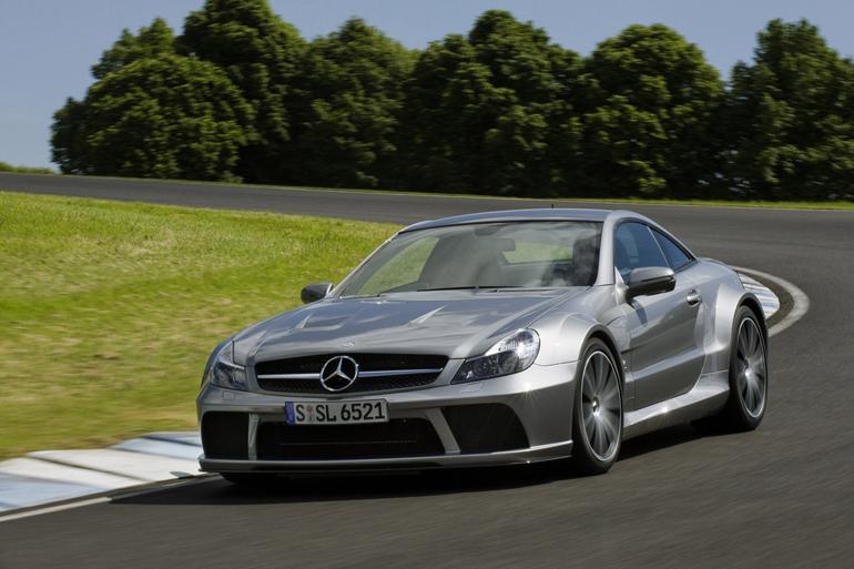 Mercedes benz sl65 amg black series sports cars for 2009 mercedes benz sl65 amg black series