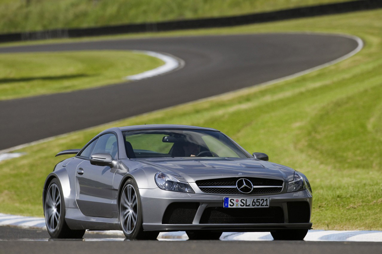 Mercedes Benz Sl65 Amg Black Series Sports Cars