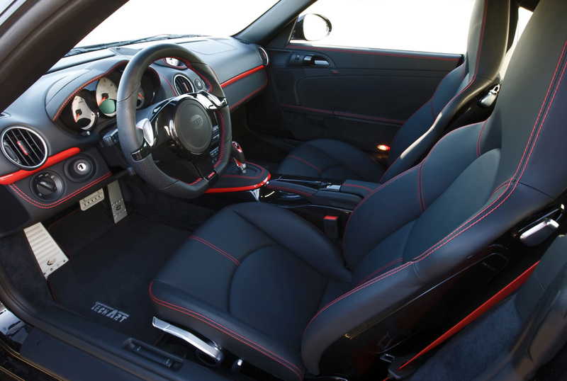 2009 TechArt Porsche Cayman interior