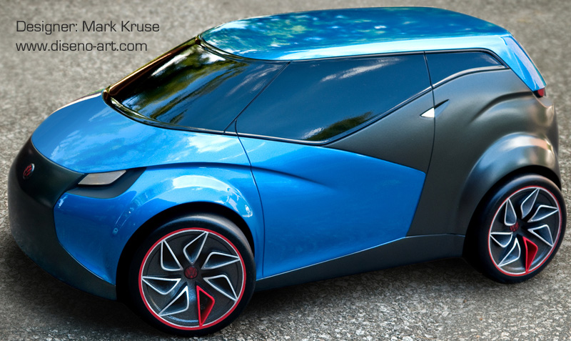 volkswagen concept s concept cars diseno art. Black Bedroom Furniture Sets. Home Design Ideas