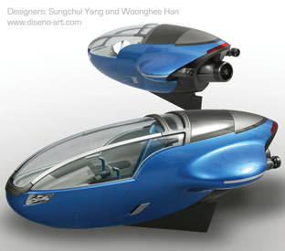 AQUA One Manned Submersible