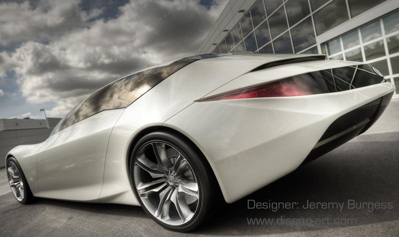 Acura Gsx Concept Cars Diseno Art