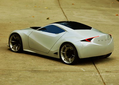 Acura Stealth concept car