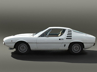 Alfa Romeo on Alfa Romeo Montreal  Photo By Brian Snedson