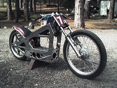 Amp Hog electric motorcycle
