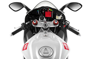 Aprilia RSV4 R dash display