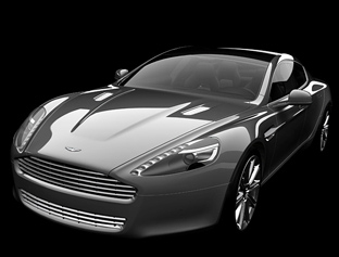 Aston Martin Rapide production