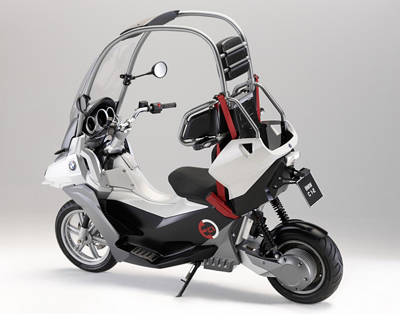 bmw c1 e concept motorbikes. Black Bedroom Furniture Sets. Home Design Ideas