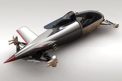 Bmw Hydrogen Salt Flat Racer Concept Cars Diseno Art
