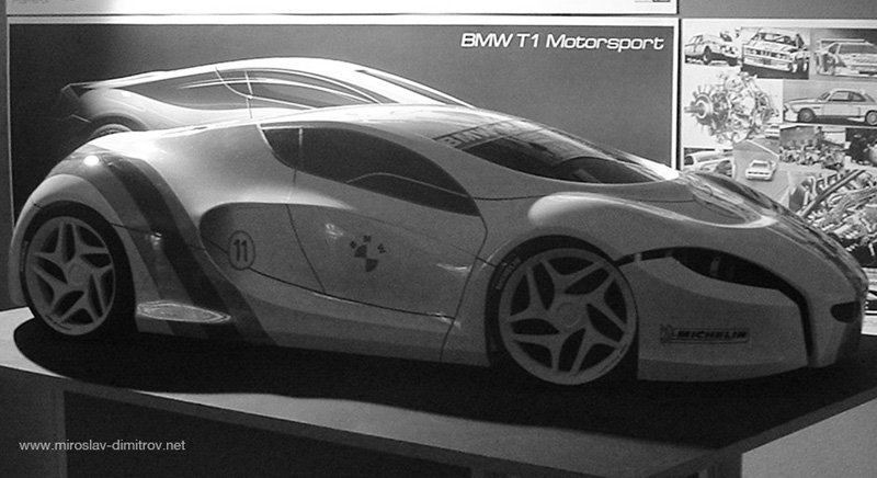 Bmw T1 Motorsport Concept Cars Diseno Art