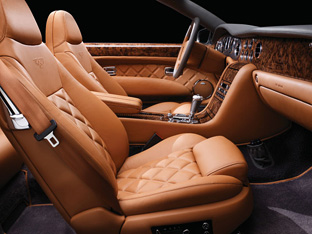 Bentley Azure T interior