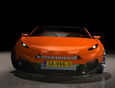 Bewerp Savage Rivale Roadyacht GTS concept car