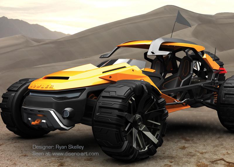 Bowler Raptor | Concept Cars | Diseno-Art