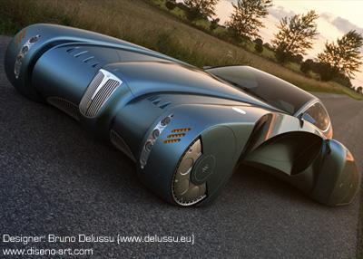 Bugatti Stratos