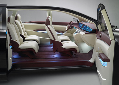 Buick Business Concept interior