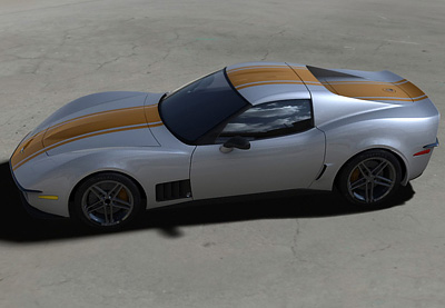 Chevrolet Corvette C3R Stingray concept by Christian Cyrulewski